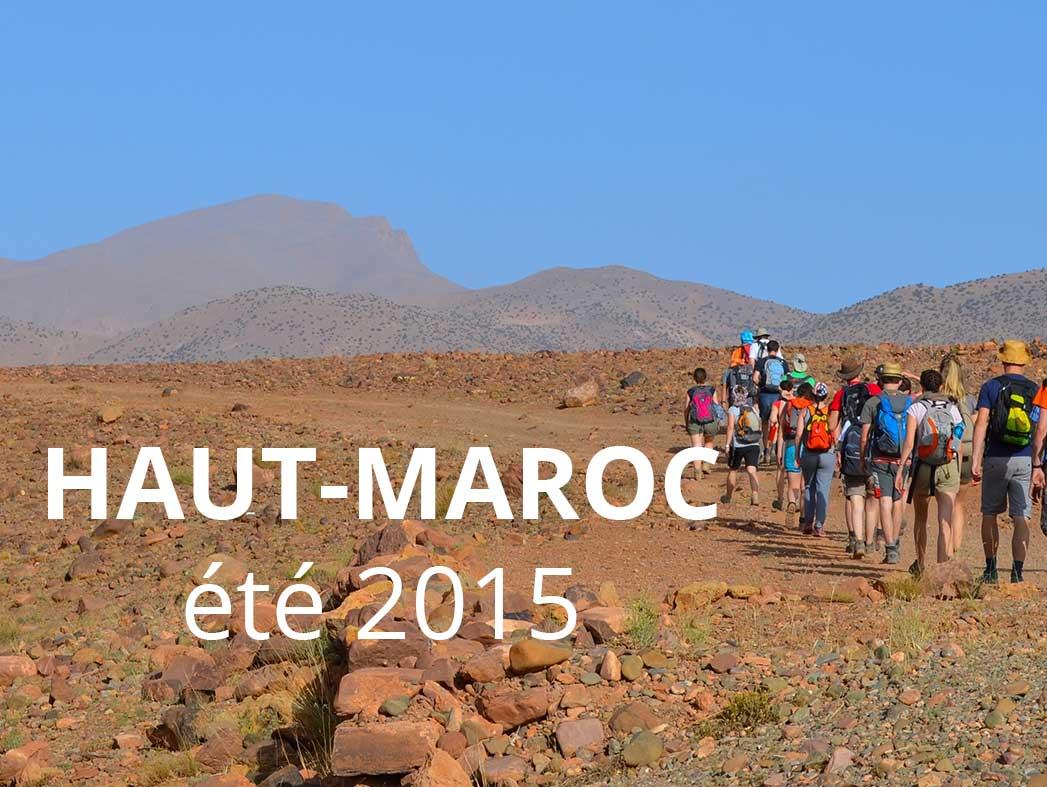 Trek au Maroc 2015