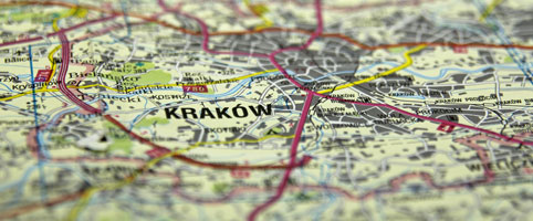 map-of-krakow-poland