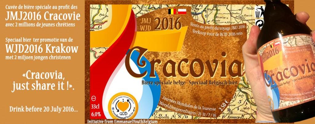 Cracovia - la cuvée spéciale JMJ2016 Promition et financement de la route de l'Emmanuel
