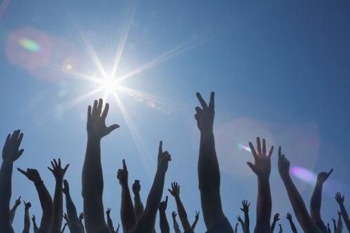 Hands-up-sky